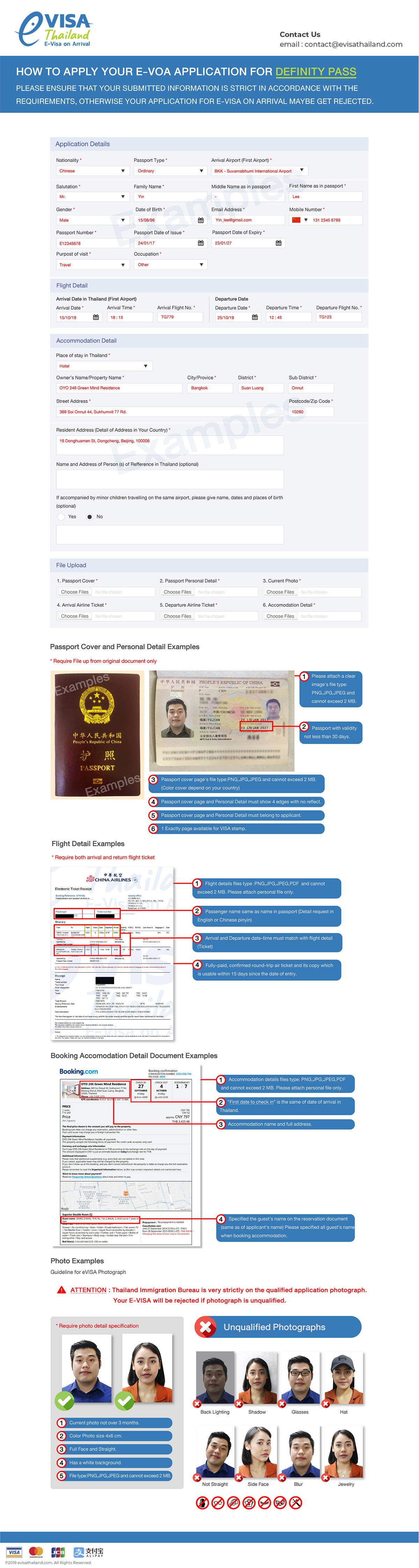 Evisa Thailand S Government Immigration Bureau Evoa